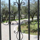 Decorazione cancello